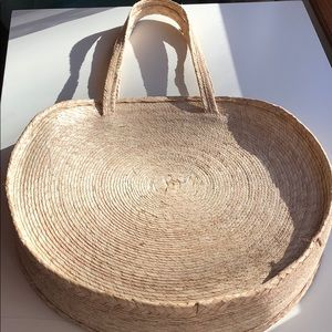 Handbags - Mexican Hand-Made Woven Straw Bag